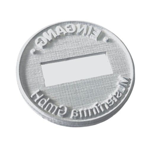 Replacement text plate Trodat date stamp 54140 (incl. ink pad 6/52040)