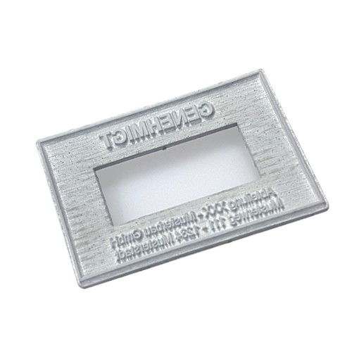 Replacement text plate for Trodat numeral stamp 5558 (incl. ink pad 6/56)
